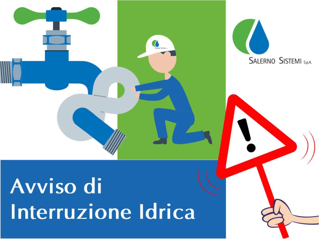 Sospensione idrica programmata – 15 gennaio 2020 Giovi San Nicola e Bottiglieri, dalle ore 10.30 alle ore 19.00