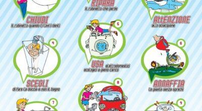 10 consigli per non sprecare l'acqua